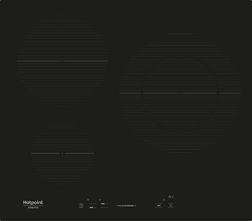 Hotpoint IKIS 630 LD F Negro Integrado Con - Placa (Negro, Integrado, Con placa de inducción, Vidrio y cerámica, 1200 W, Alrededor)