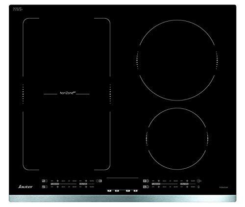 Sauter SPI4664X hobs Negro Integrado Con - Placa (Negro, Integrado, Con placa de inducción, Vidrio y cerámica, 2200 W, 16 cm)