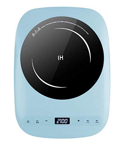 RENXR Placa Inducción Portatil, 2100W Portatil Placa Inducción con Controles Táctiles y 3 Niveles de Potencia,Temporizador