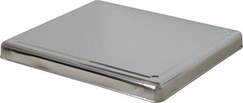JOCCA - Placa protectora de acero inoxidable para inducción o vitrocerámica.