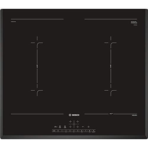 Bosch PVQ651FC5E Placa de inducción, Encastrable, 5 niveles, DirectSelect, Negro