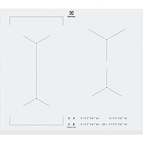 Electrolux Placa de inducción eléctrica con 4 campos de calefacción EIV63440BW, vidrio