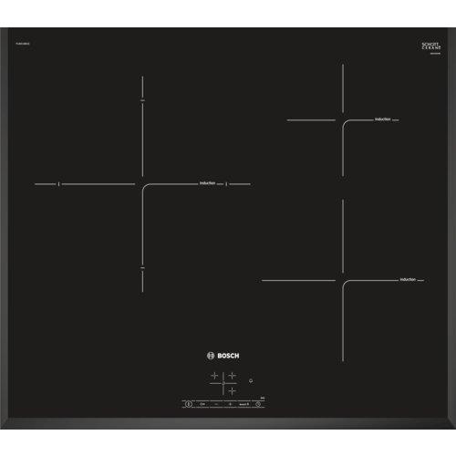 Bosch PIJ651BB2E - Placa Inducción, Vidrio, Negro, 15 cm, 1400 W