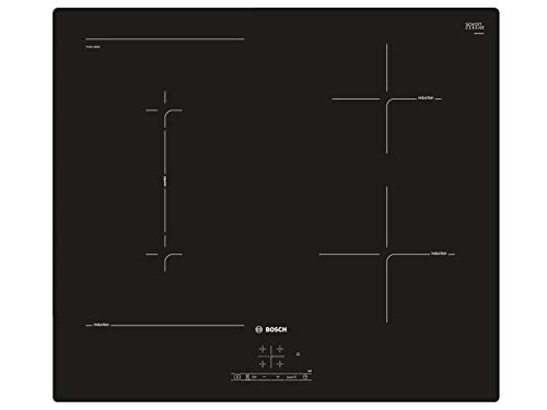 Bosch - Placa de cocción PVS611BB5E de inducción 4 zonas de cocción de 59 cm Color Negro