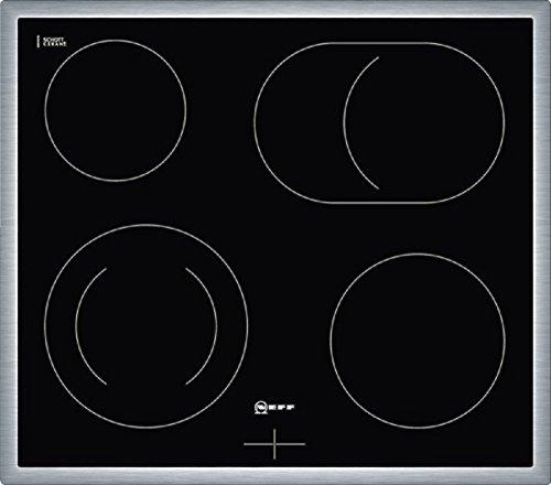 Neff MR 1342 N - Placa (Integrado, Inducción, Vidrio y cerámica, 220 - 240V, 50/60 Hz, 7800W) Negro