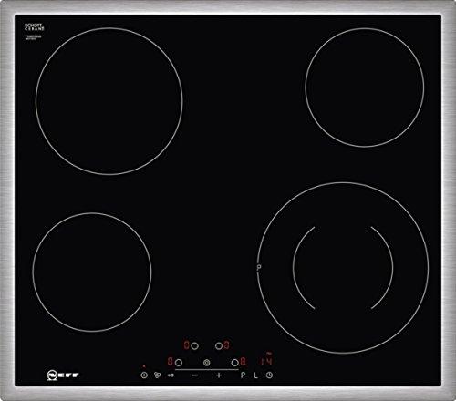 Vitrocerámica con sistema autónomo Neff T16BD56N0 de inducción, 60cm, control táctil