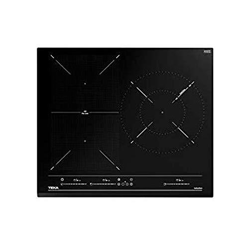 Teka | Placa de inducción Flex de 60cm con 4 zonas con funciones directas | 5 x 60 x 51 | Negro | IZF 65320 BK MSP