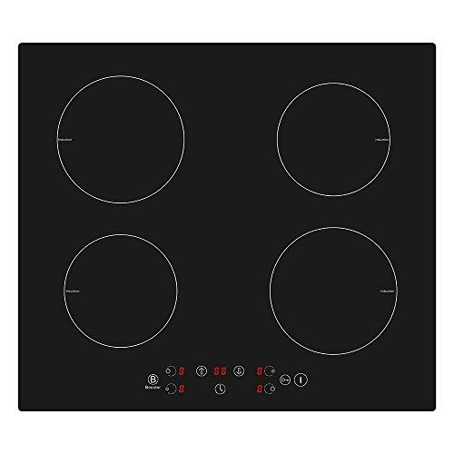 Placa de inducción de (4 zonas)